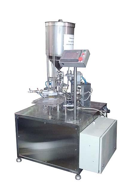 Automatic Cup Fill Seal foil/film packing machine AF-1500