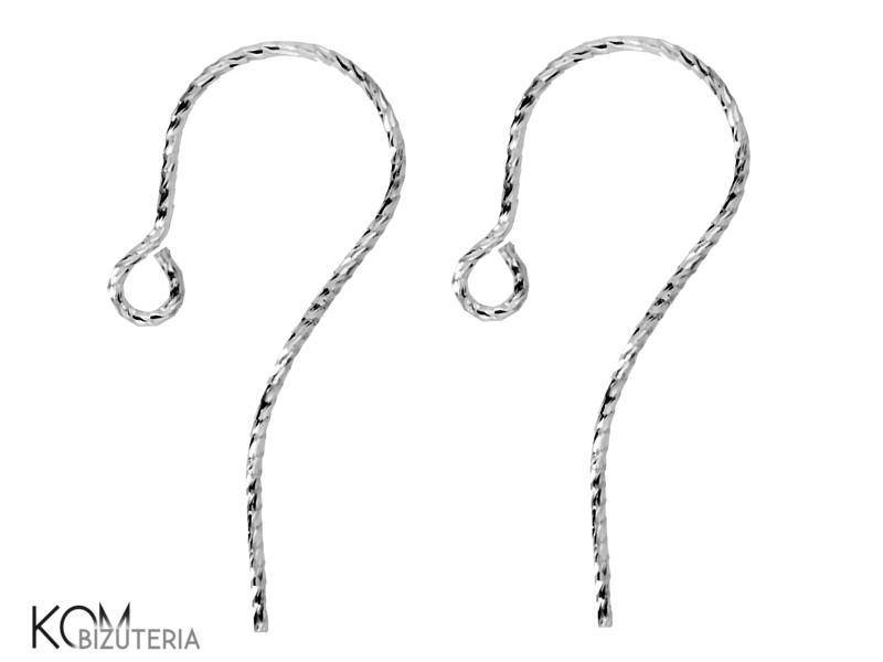 Open diamond cut earring KH4.1