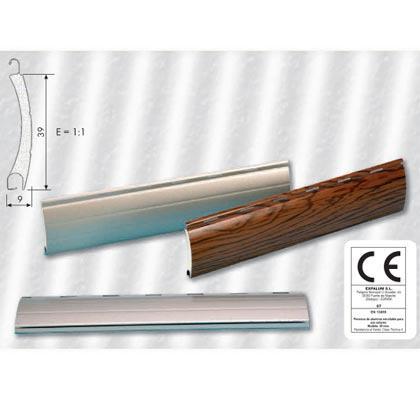 Lama de aluminio