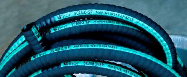 Tubos y tuberías de caucho y plástico