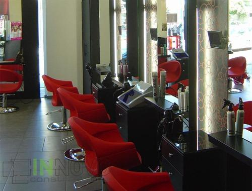 Renovation of hairdressing shops