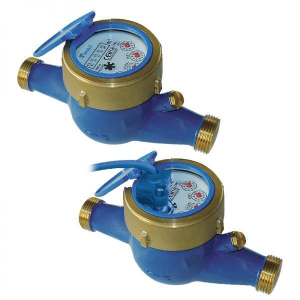 multijet dry dial domestic cold water meters