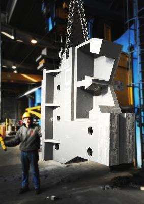 Corpo lunetta in EN-GJS400-15 kg. 6.500