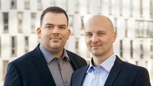 Geschäftsführer - Konstantin Humm und Andreas Bastian