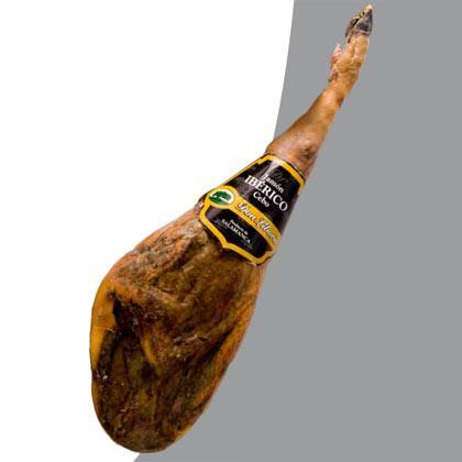 Jamón Ibérico de Cebo Etiqueta Negra