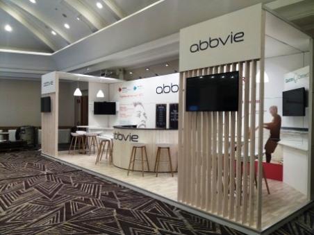 Abbvie congres Antwerpen Hilton Hotel