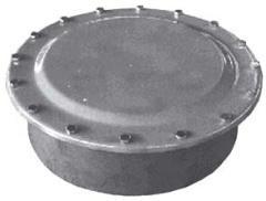 Pressure or non pressure bolted manholes