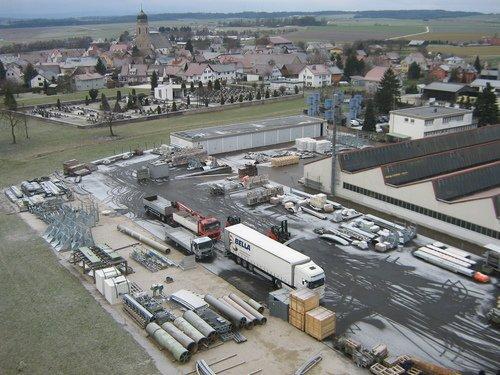LIPP Gelände mit Blick auf Tannhausen