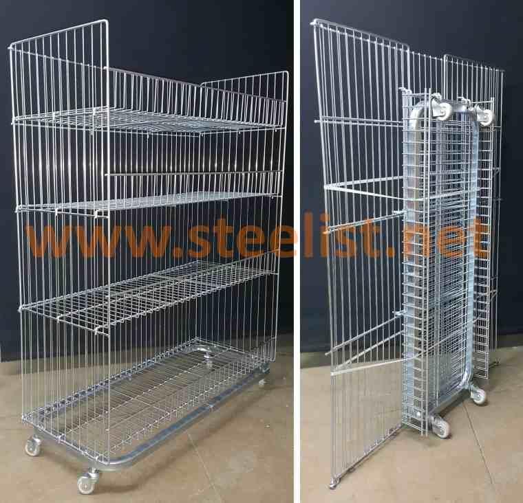 Foldable Storage Wire Baskets