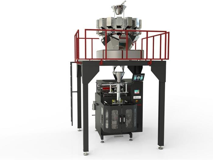 IM-W SERIES Packaging Machine With Multihead Weigher