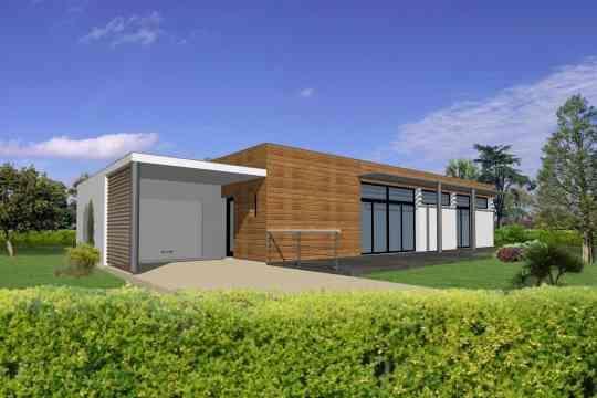 Auto-construction maison bois