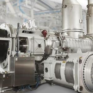 Ein-Wellen Knet-Reaktor