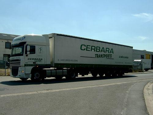 Camion Cerbara Transports