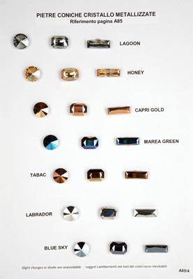 Pietre metallizzate