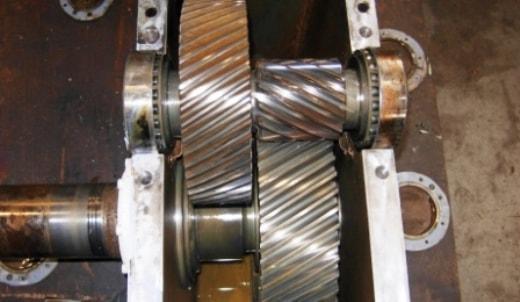 Repairing a gearbox