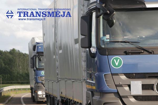 Transmeja, land transport