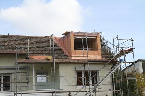 Dach- und Gaubenabschirmung