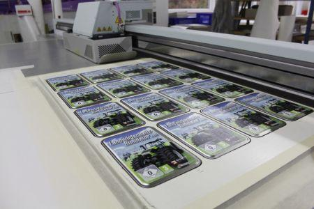UV digital printing for small quantities