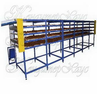 conveyor cooling multilevel