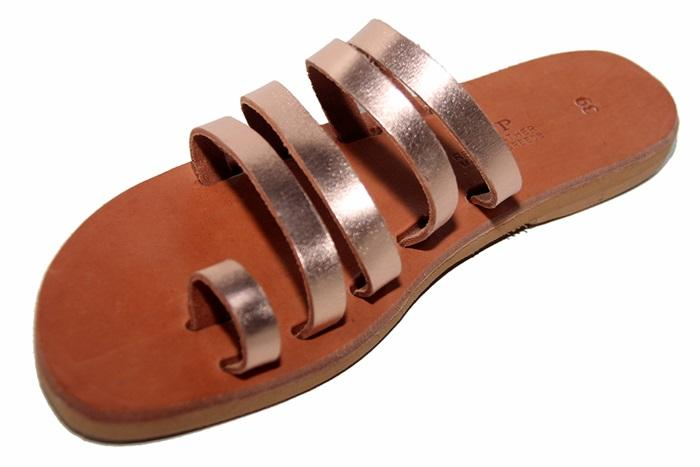 High platform sandals made from finest leather