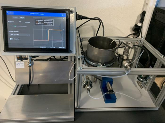 Dosing System with Flow Connect