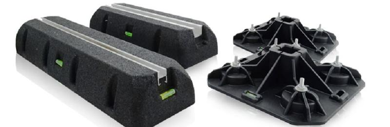 ST-ROF system – roof feet and supports of highest quality.