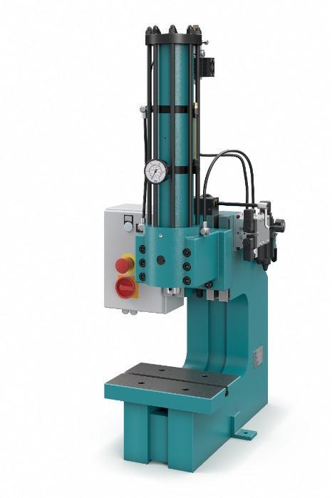hydro-pneumatic press XL-HP 10000 HV 5/10