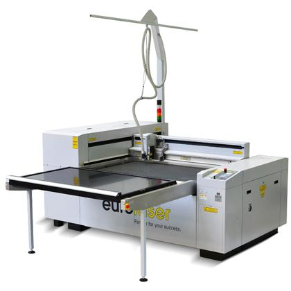 Lasersystem for cutting of acrylic and foils