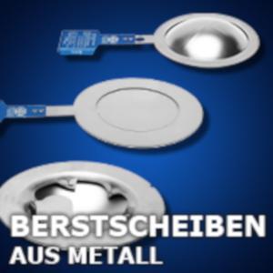 Berstscheiben aus Metall