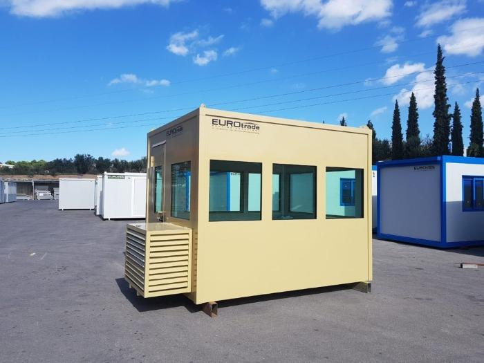 Bulletproof mobile offices