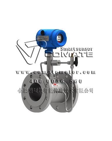 Multivariable digital vortex type flowmeters