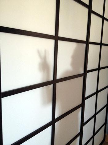 Porte transparente Rokugatsu