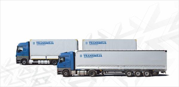 Transmeja, road transport