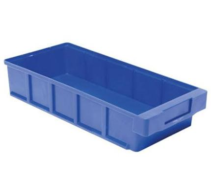 Versatile, shelf seated plastic picking bins designed for shelving cabinets and storage systems for small parts and components. Different sizes and options available.
