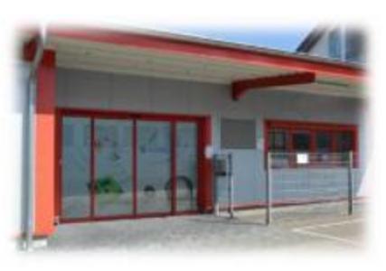 Firmengebäude - Eingangsbereich