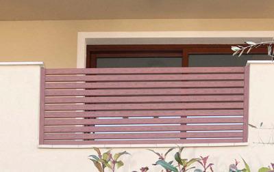 Produzione balconi alluminio