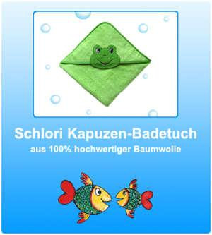 Schlori Kapuzen-Badetuch