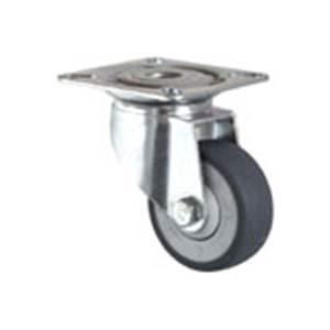 Apparatus castor with TPE wheel