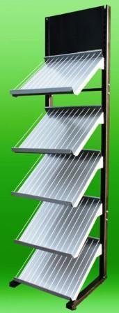 Commercial racks shelves