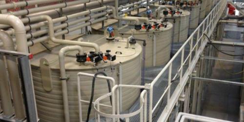 Abwasseranlage f. d. Automobilindustrie