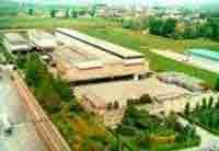 In foto vista aerea dell'azienda