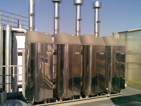 centrale termica con bruciatore a metano