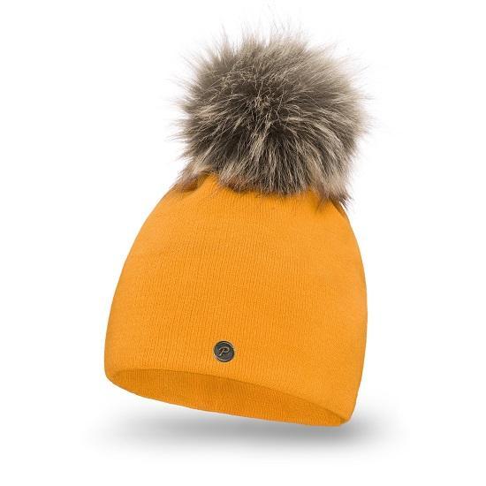 Standard women's hat with pompom