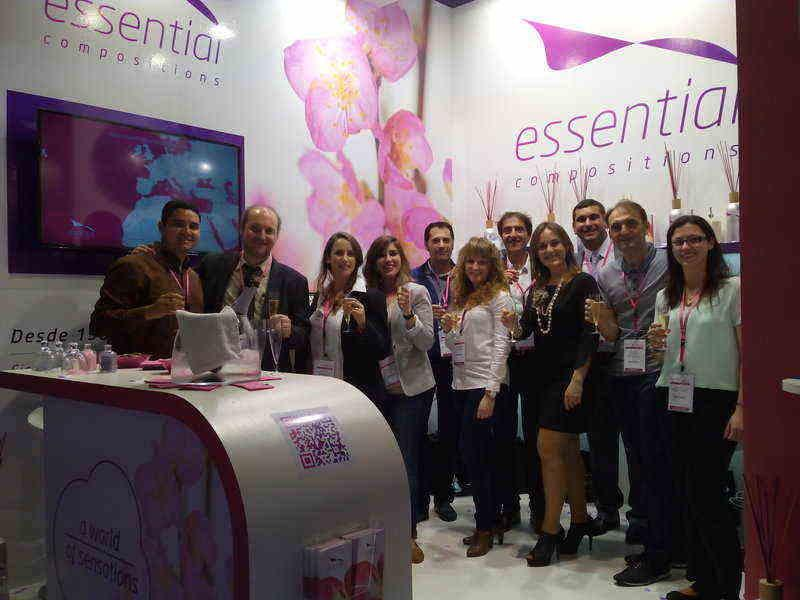 Essential Compositions at  In-cosmetics Barcelona 2015, ¡Great Success!