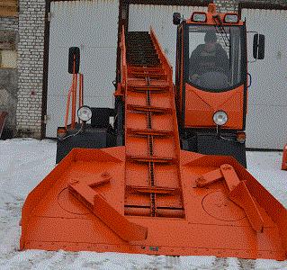 Снегопогрузчик лаповый КЗДМ-206
