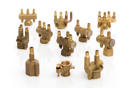 Brass Forgings for HVAC Industry
