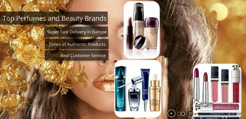 Branded cosmetics and fragrances