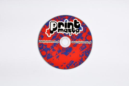 CD/DVD digitally printed, also small quantities