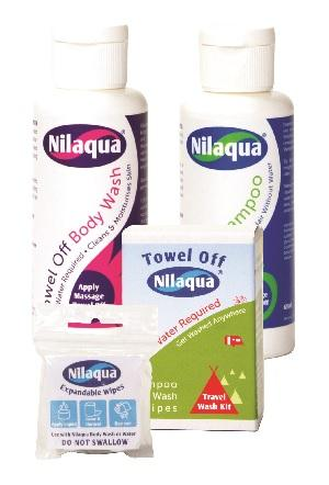 NILAQUA TRAVEL KIT