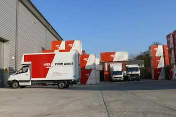 AGS removal trucks